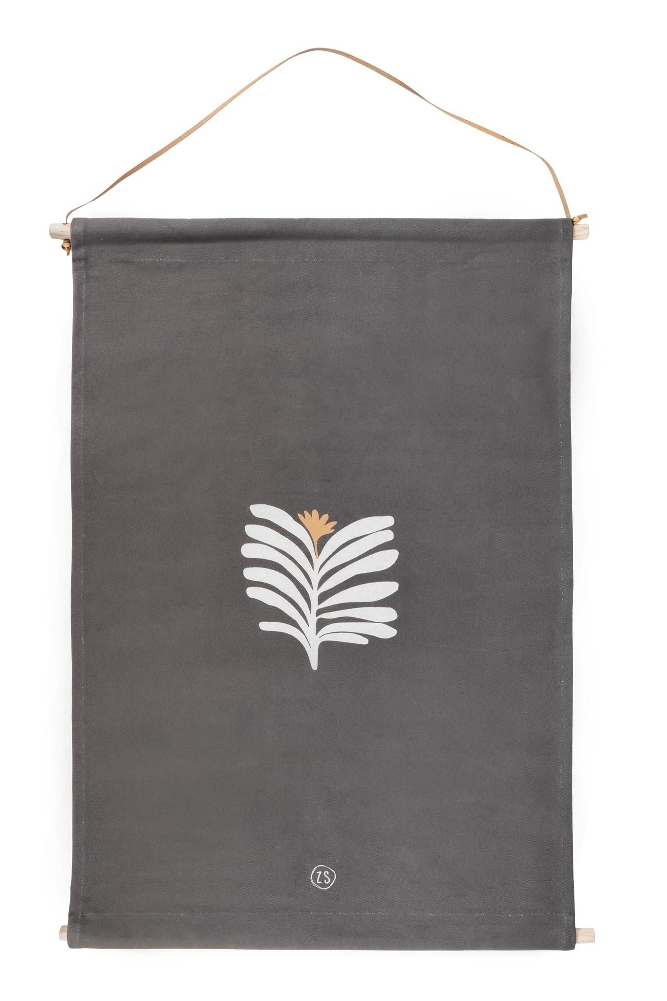 Zusss outdoor wandkleed - blad