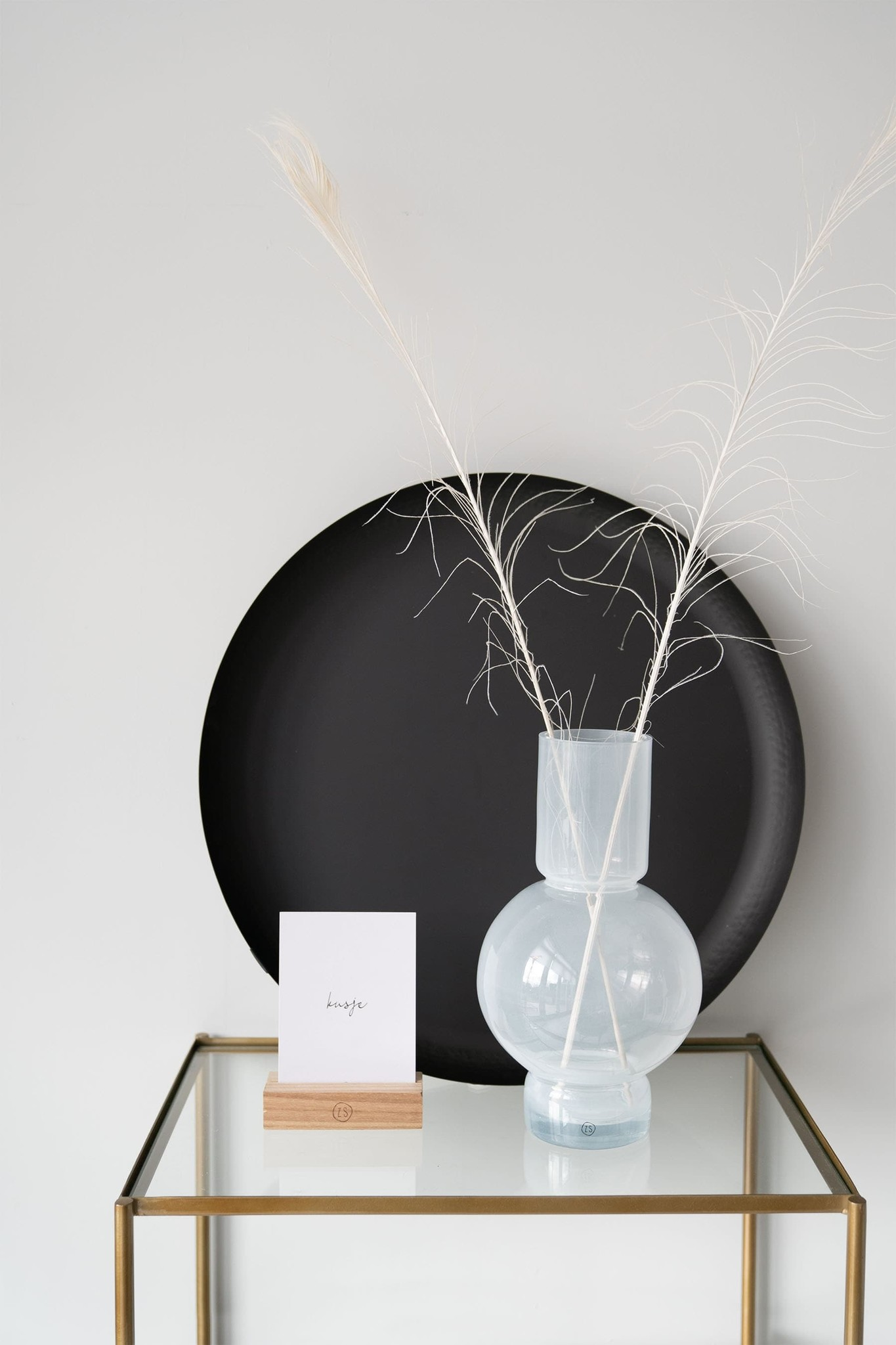 Zusss Stylingbord 50cm - zwart