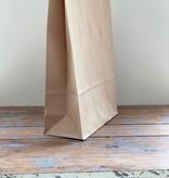 Papieren blokbodem  XL zakken 23x10x33cm, 5 stuks