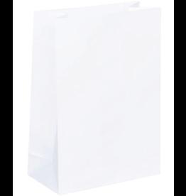 Papieren blokbodem  XL wit , 5 stuks