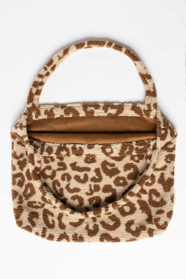 Studio Noos teddy leopard mom-bag
