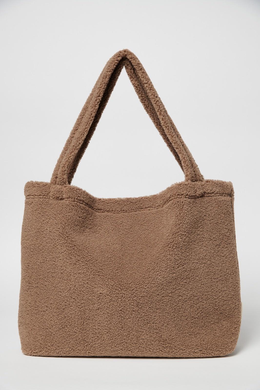 Studio Noos brown teddy mom-bag