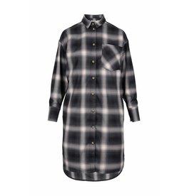 Zusss overhemd jurk ruit