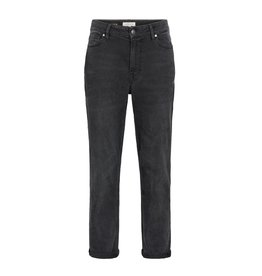 Zusss Stoere mom jeans - off black