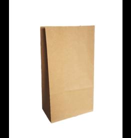 Papieren blokbodemzak kraft, 10 stuks