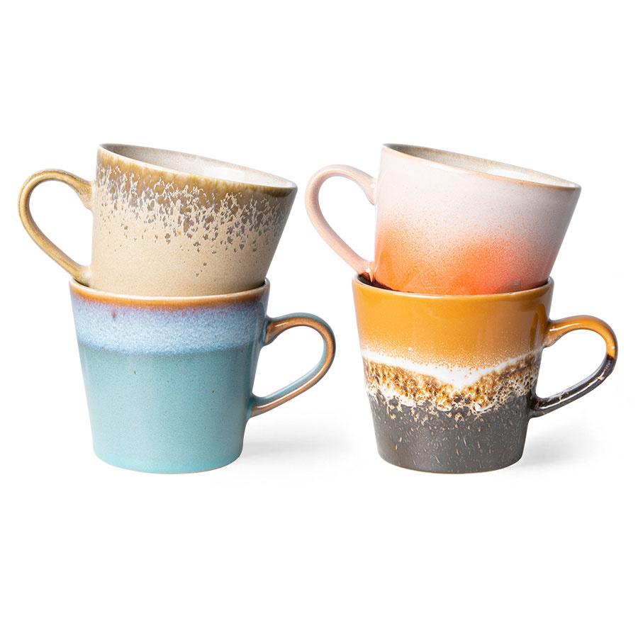HKliving cappuccino mokken set / 4 (2)