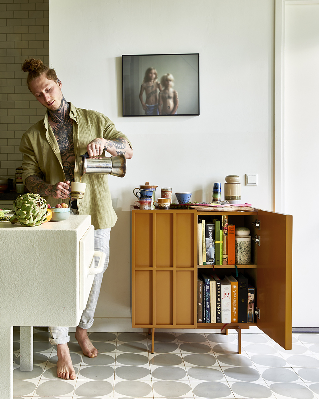 HKliving koffiefilterhouder - BERRY