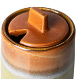HKliving Melk- en suikerpot PEAT/BERRY