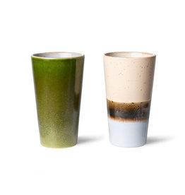 HKliving Latte mokken set / 2  (3)