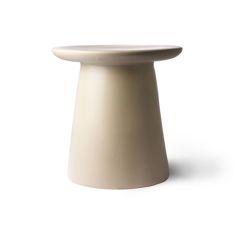 HKliving Site table earthenware 40x43cm