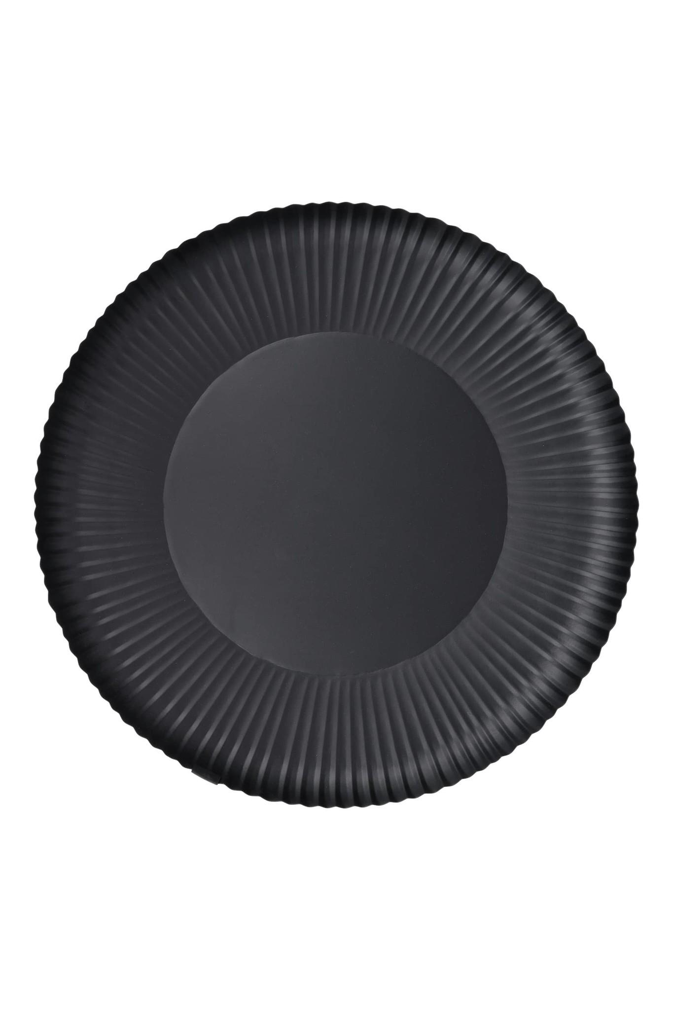 Zusss Stylingbord met ribbels 50cm - zwart