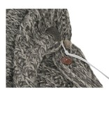 Zusss Sjaal XL gebreide col/omslag 50x210cm, zand
