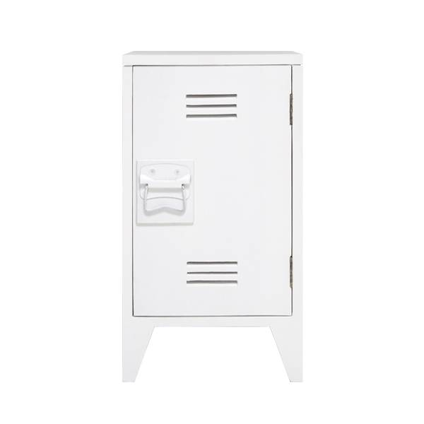 HK Living nachtkastjes locker 65x36x33cm set, wit