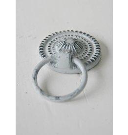Harveys Kastknop 'ring pull' grijs/zwart