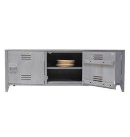 HK Living TV-meubel hout grijs