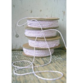 Bakers String / slagerstouw roze-wit