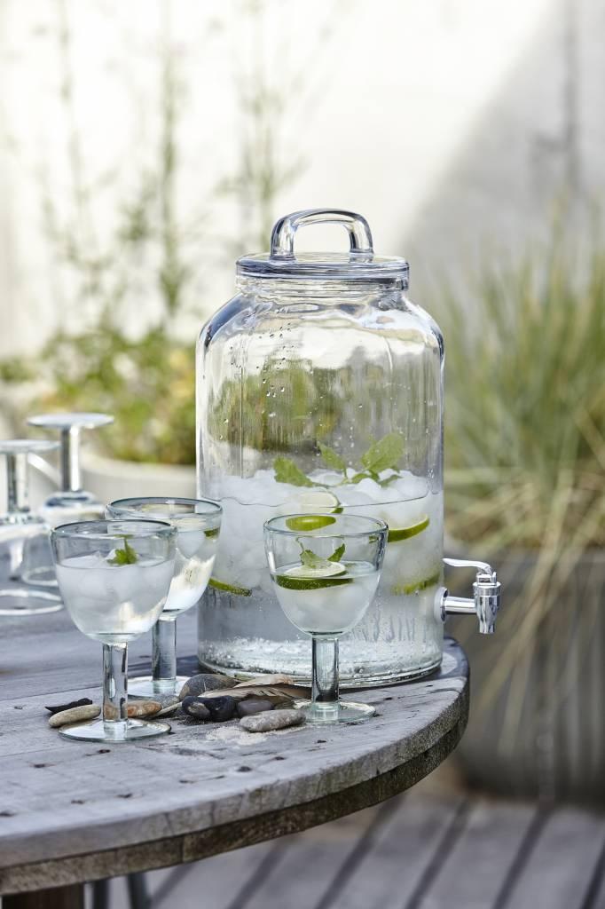House Doctor glazen limonadetap 8,5 liter