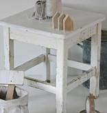 Oud Krukje 41,5x41,5x48,5cm, wit