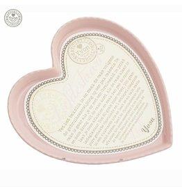 Bakvorm hart groot roze