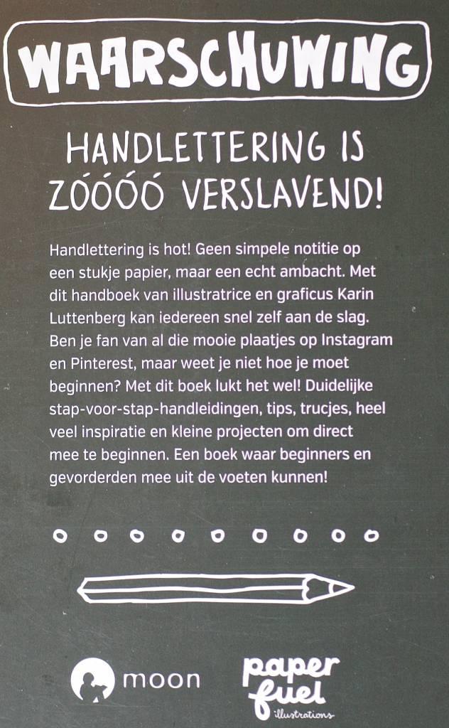 Paperfuel Boek Handlettering doe je zo van Karin Luttenberg