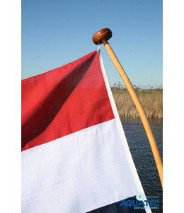 Vlaggenstok met vlag