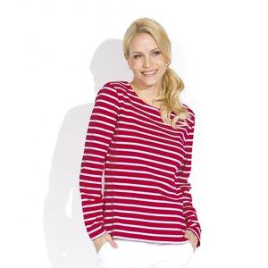 Bretonse streepshirt voor dames in 13 kleurcombinaties