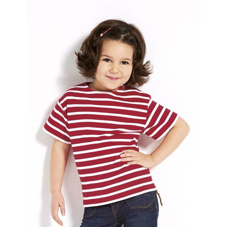 Bretons kinder-streep T-shirt