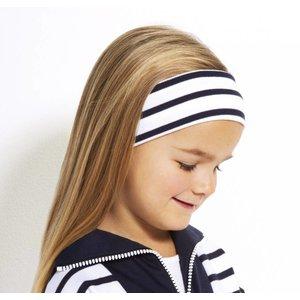 Modas Bretonse streep hoofdband in vele kleuren