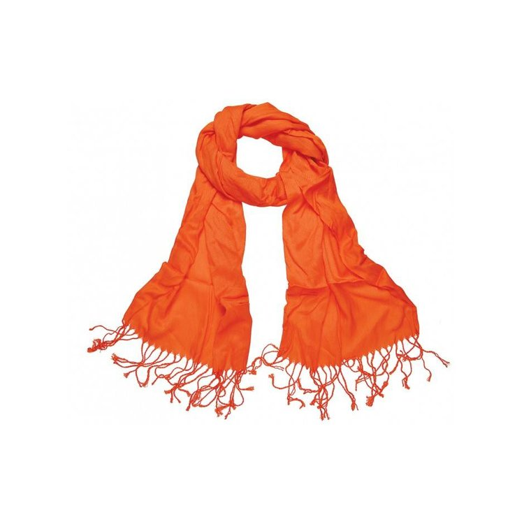 Pashmina sjaal Viscose - Oranje