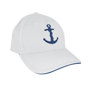 Baseball-cap met Anker