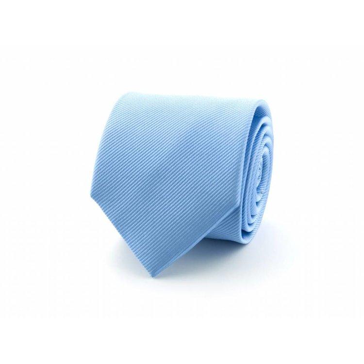 Zijden stropdas - Lichtblauw