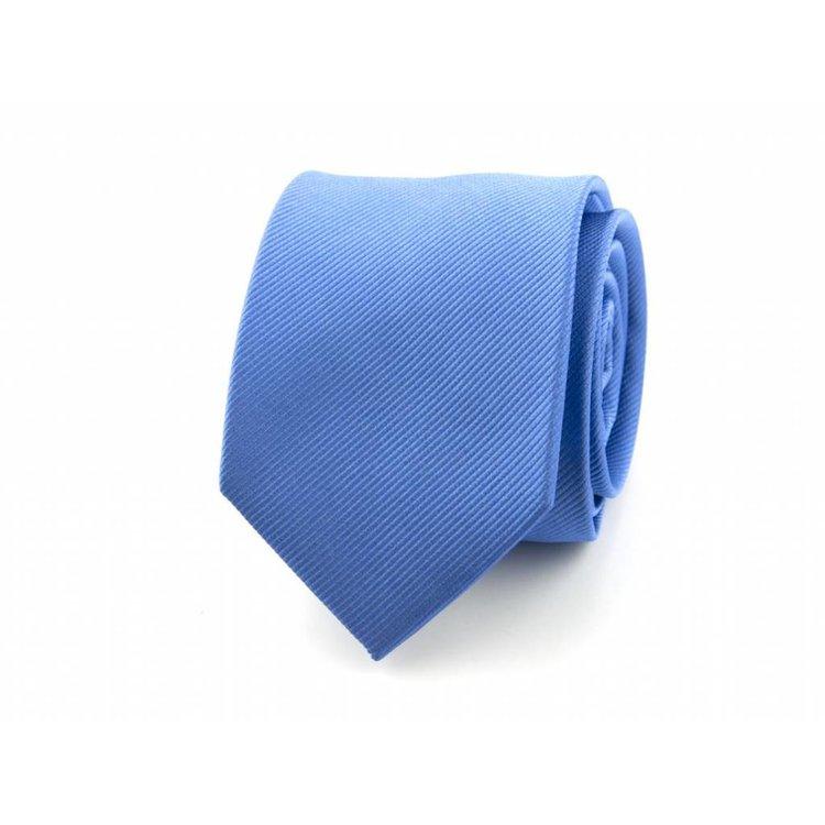 Zijden stropdas - Middenblauw