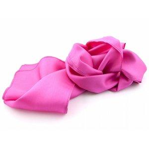 Luxe zijden sjaal in verschillende formaten - Fuchsia
