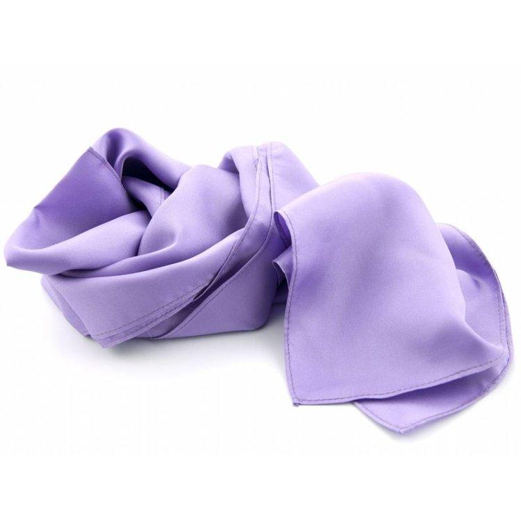 Luxe zijden sjaal in verschillende formaten - Lila