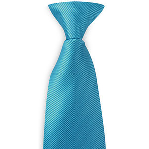 Polyester clipdas uni repp Turquoise