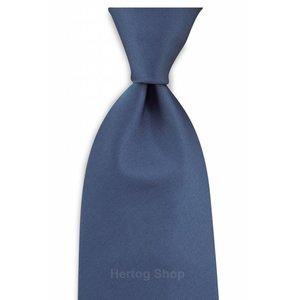 Polyester stropdas Elegance Denimblauw