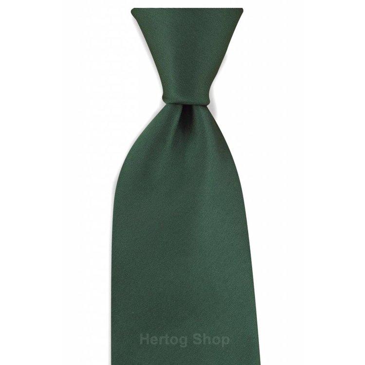 Polyester stropdas Elegance Flessengroen