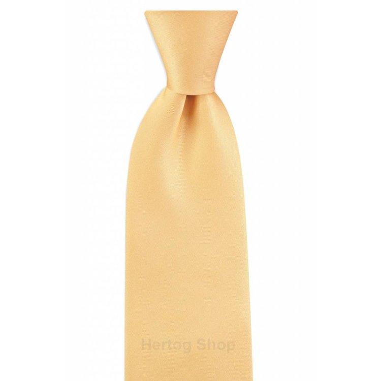 Polyester stropdas Elegance Zachtgeel