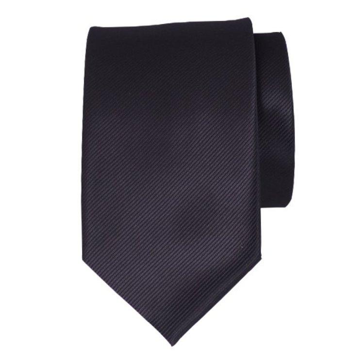 Polyester stropdas - Zwart