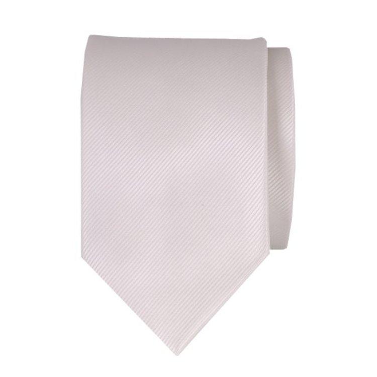 Polyester stropdas - Ecru