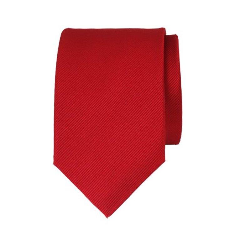 Polyester stropdas - Rood