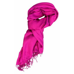 Pashmina sjaal Premium - Kleur Fuchsia
