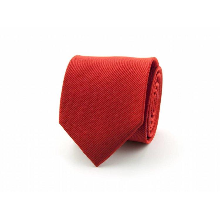 Zijden stropdas - Rood