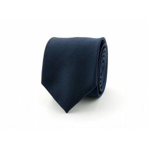 Zijden stropdas - Donkerblauw