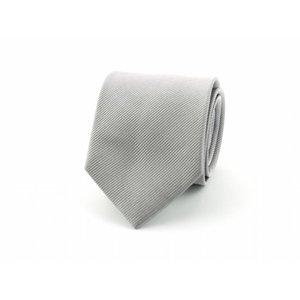 Zijden das - Zilvergrijs