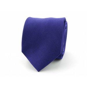 Zijden stropdas - Donkerpaars