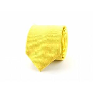 Zijden stropdas - Geel