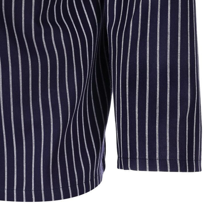 Modas Origineel Takelhemd met koordsluiting, smalle  strepen