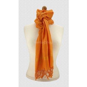 Pashmina sjaal - Oranje