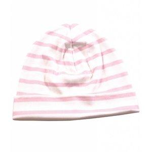 Modas Bretonse kindermuts Wit-roze